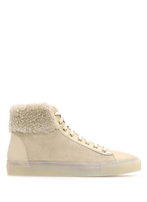 Yves Salomon Spor Ayakkabı Krem
